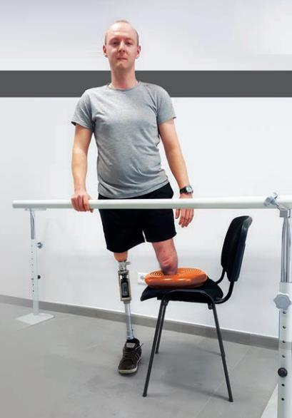 Ćwiczenia po amputacji na poziomie podudzia